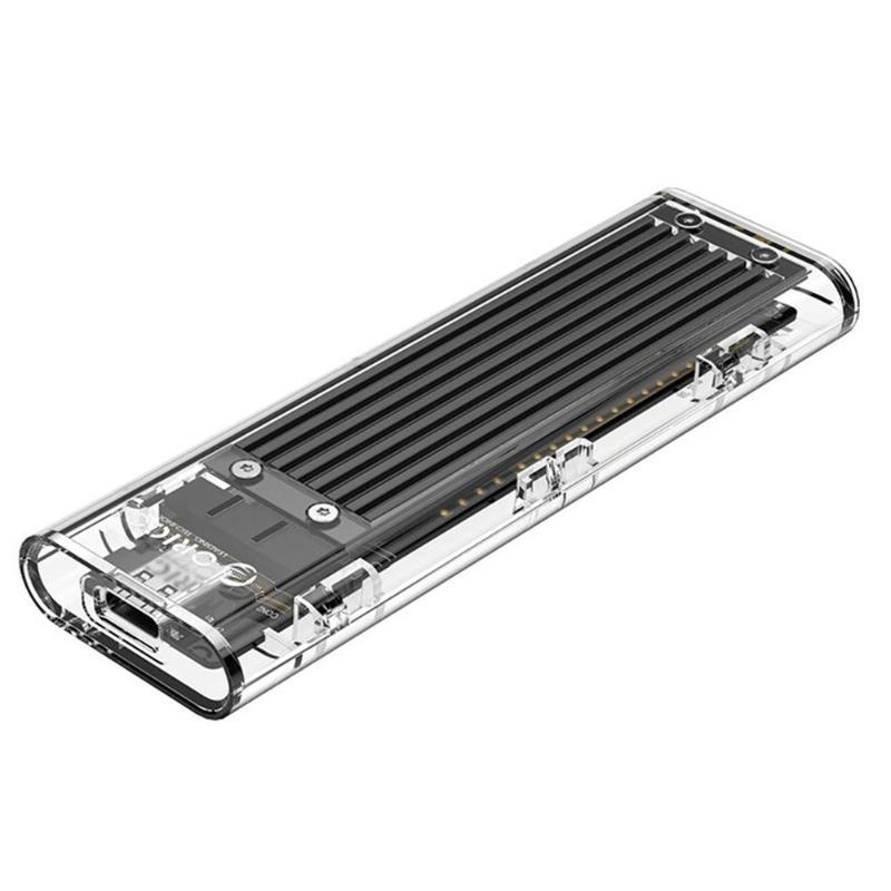 ORICO TCM2F-C3 NGFF-USB3.1 TYPE-C M.2 SSD 하드 디스크 드라이브 인클로저 케이스 5Gbps 하드 드라이브 디스크 케이스 2 테라바이트 인클로저 지원