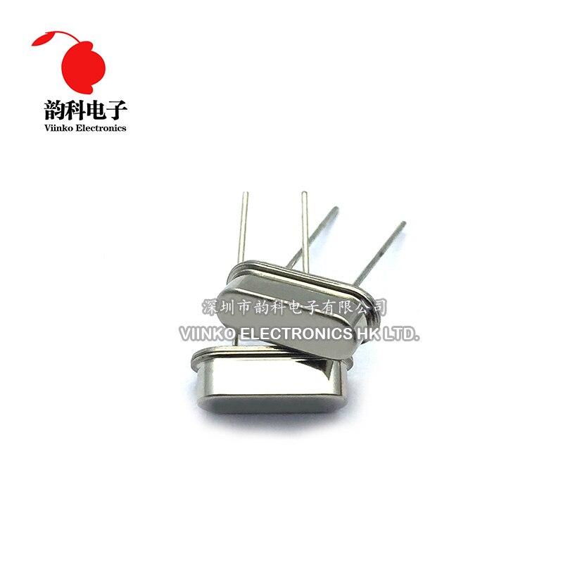 100 pcs DIP HC-49S 3.6864 MHz 20ppm 20pF 수정 진동자