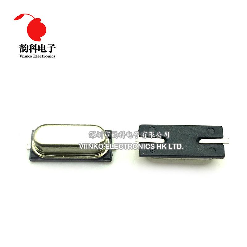 50pcs SMD HC-49S 22.1184MHz 20ppm 20pF 수정 진동자 크리스탈