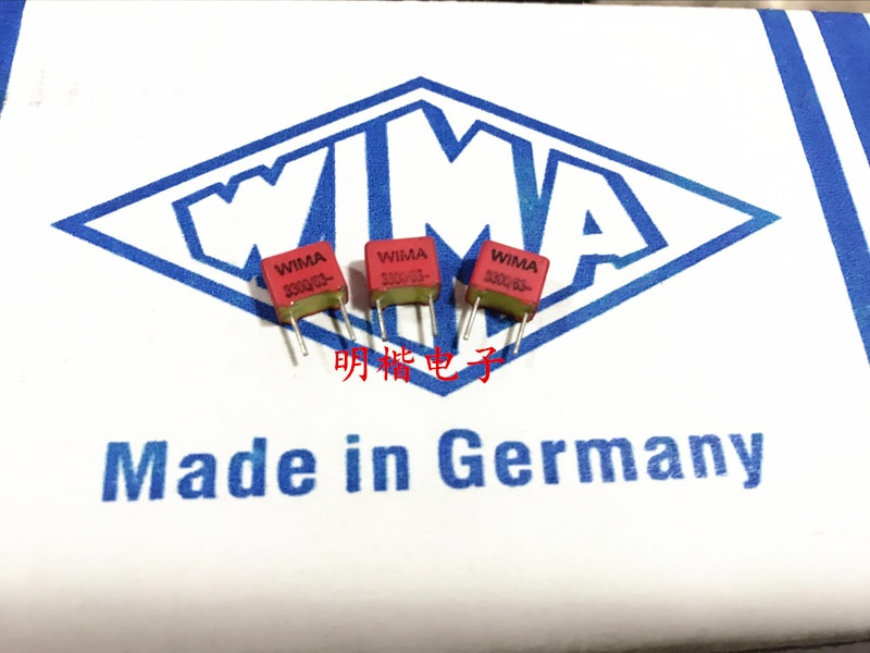 [해외]2019 뜨거운 판매 10 pcs/20 pcs 독일 wima fkp2 63 v 3300pf 332 3300 p p: 5mm 오디오 콘덴서 무료 배송/2019 뜨거운 판매 10 pcs/20 pcs 독일 wima fkp2 63 v 3300pf 33