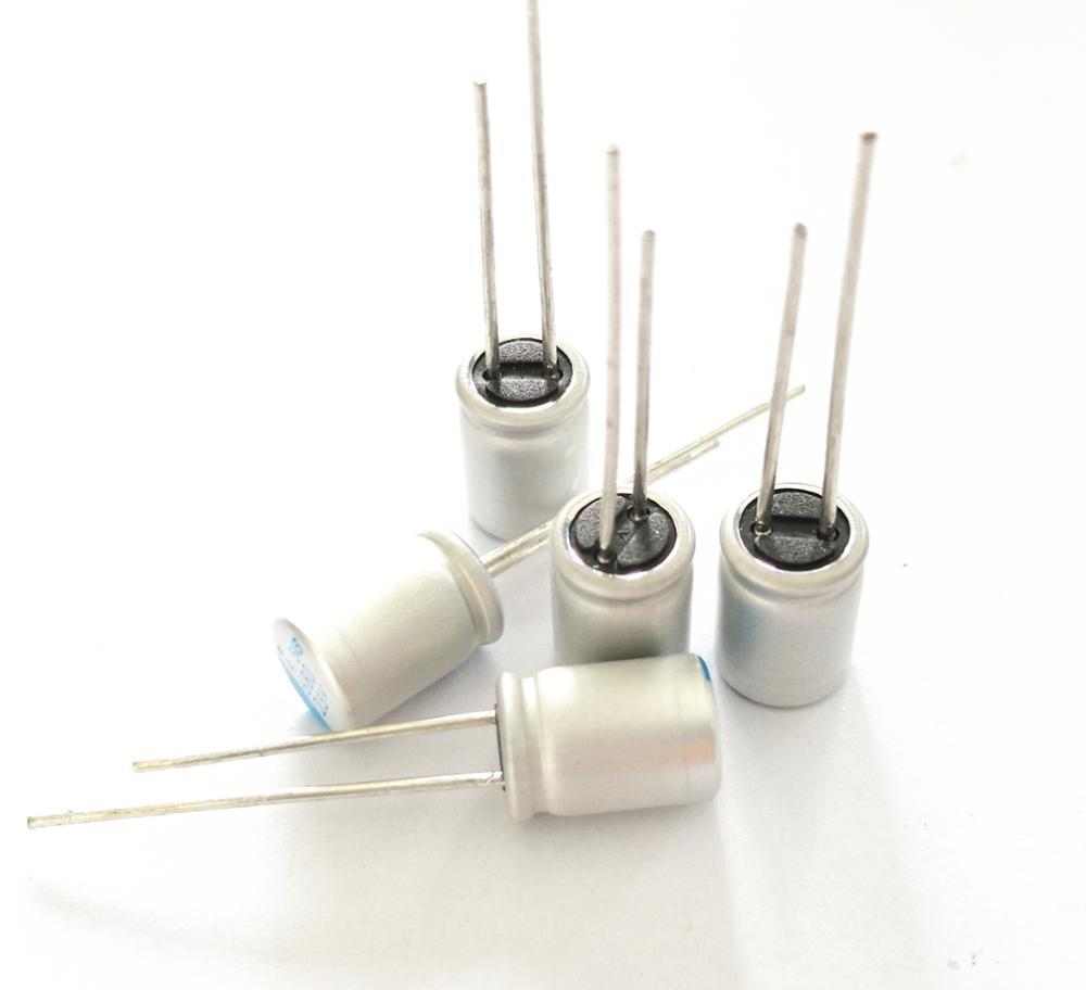 5 pcs 50 V 47 미크로포맷 10*12.5 솔리드 커패시터 50V47UF